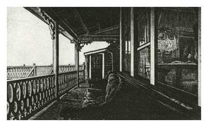 Porch at the Surf