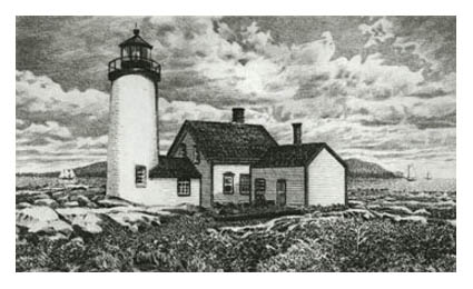 Old Bakers Island Light